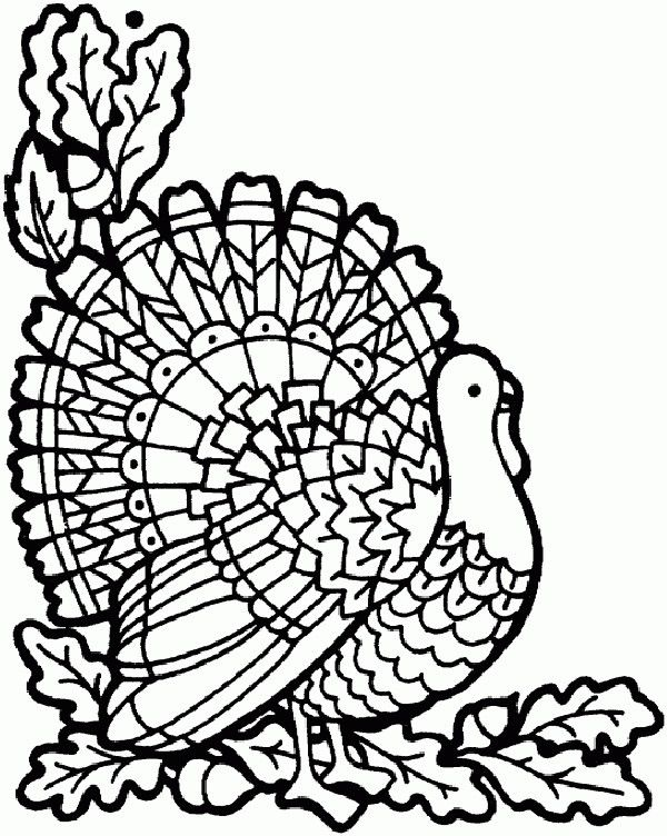 These Free Coloring Pages Will Make Your Thanksgiving Way