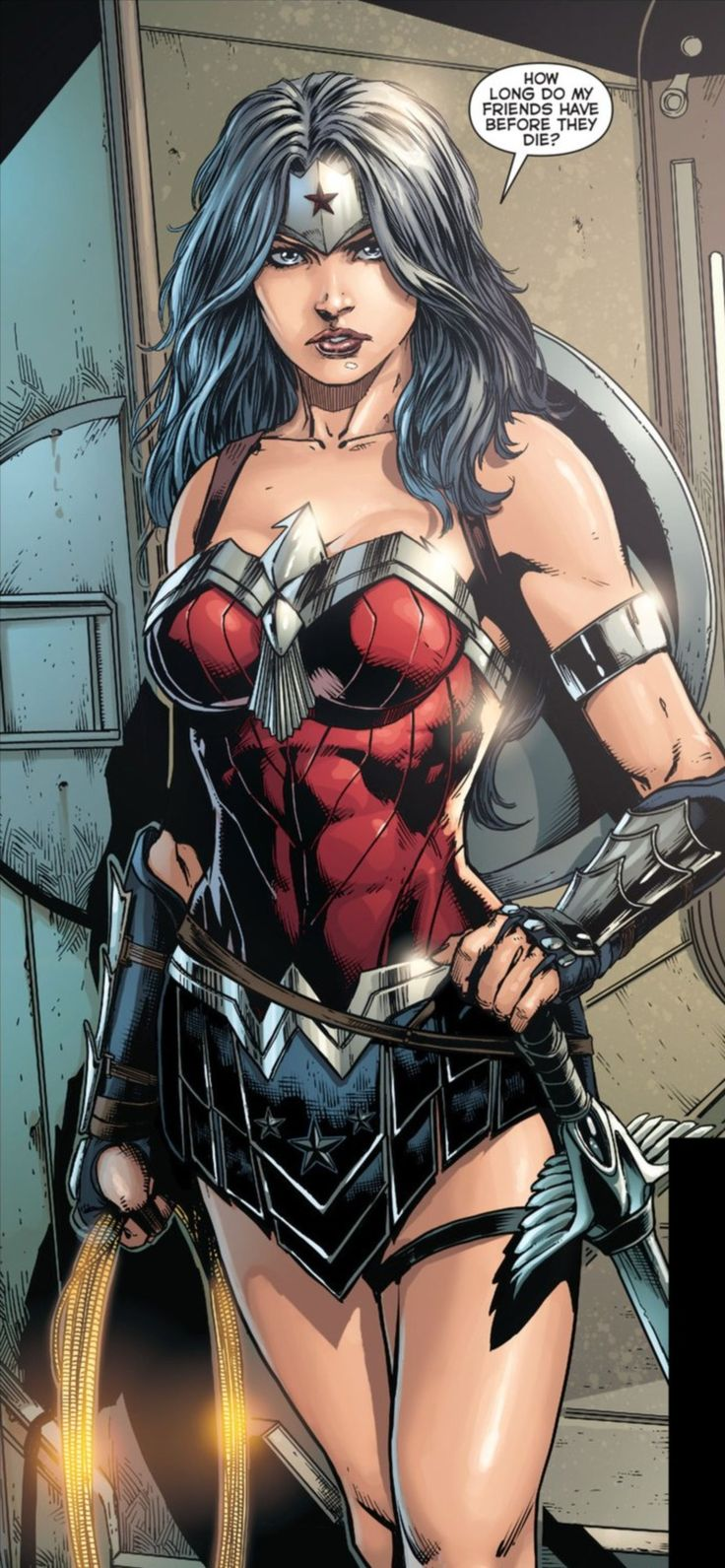 Wonder woman comic book porn-1716