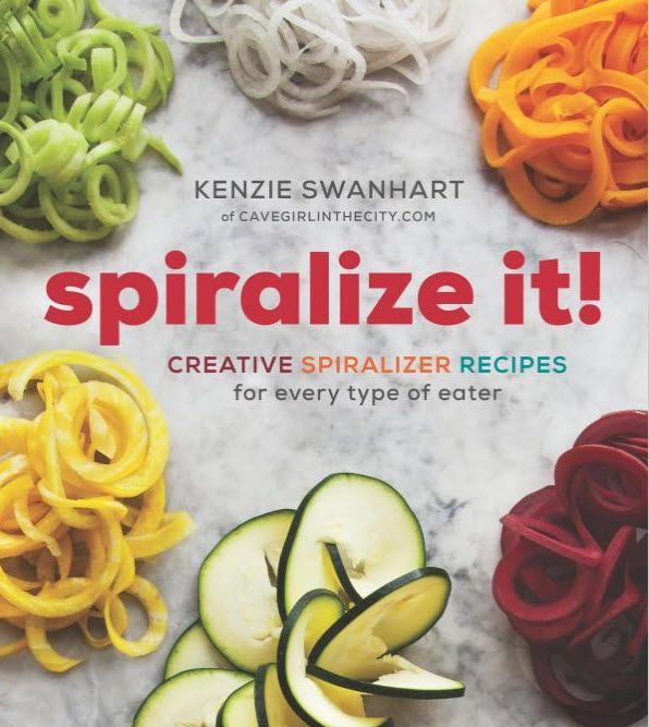 Spiralize It! offers more than 100 recipes that are designed to suit a range of diets, including paleo, gluten-free and vegetarian. foodfornet.com