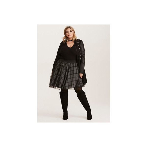 Torrid Plaid Print Mesh Tulle Mini Skirt ($41) ❤ liked on Polyvore featuring skirts, mini skirts, bottoms, plus size, red, tulle skirts, short plaid skirt, plus size mini skirts, short skirts and mini skirt