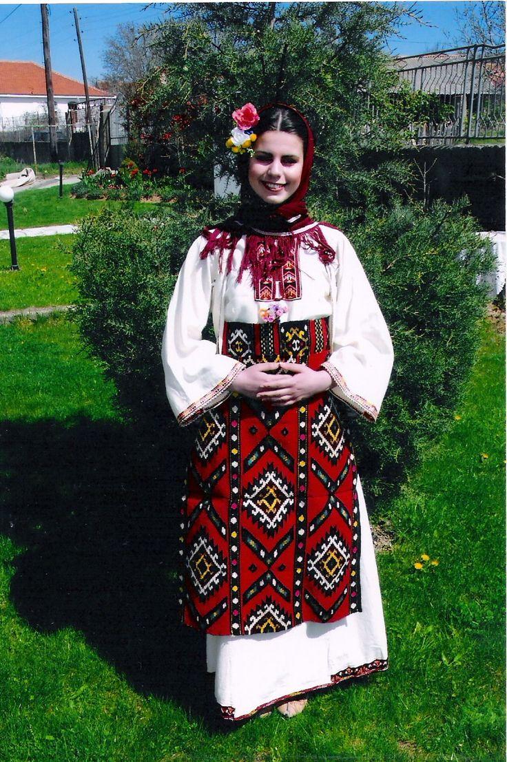 Одна из разновидностей женского платья общины Куманово #Македония