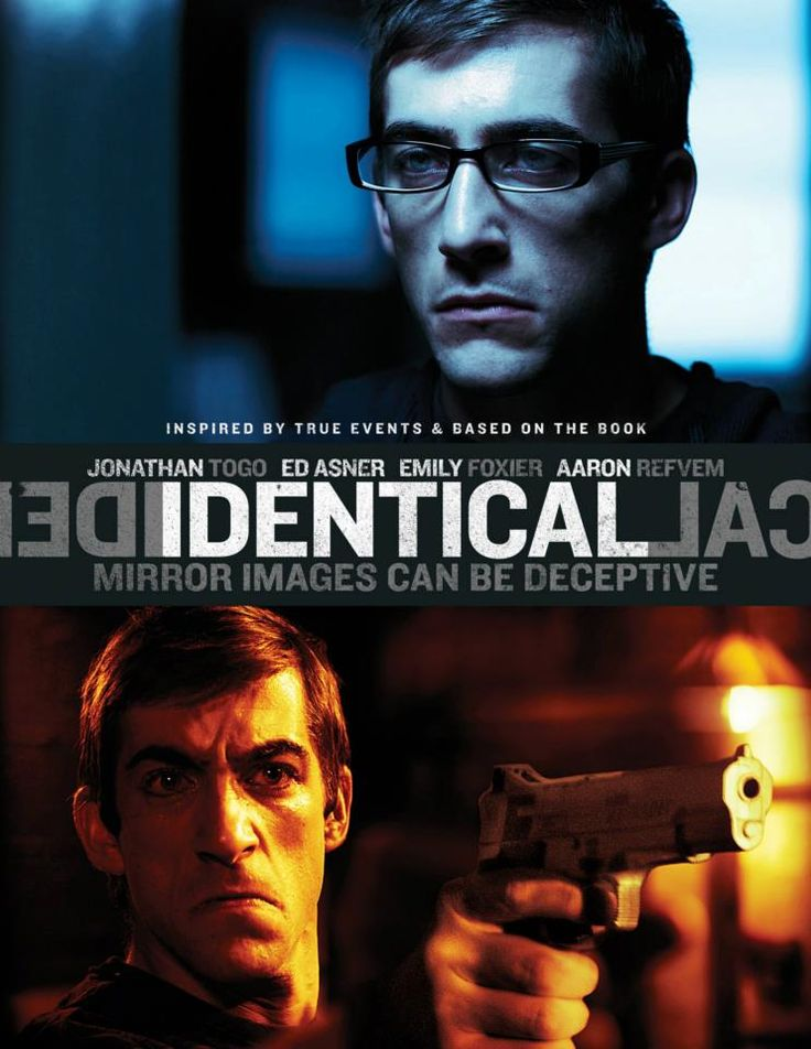 """#Movie #IMDb #Movies #DVD #DVDs #Film #Films #Thriller #Thrillers #ThrillerMovie #ThrillerMovies (Short Synopsis) """"When #identical twins fall for the same woman, secrets are revealed, setting an irrevocable chain of events into motion. Now one of them has blood on his hands … Inspired by true events."""" (Starring) #JonathanTogo (CBS's CSI: Miami, Mystic River), #EdAsner (TV's Mary Tyler Moore, Up, Elf), Emily Foxler (Ghosts of Girlfriends Past), and Aaron Refvem (TV's General Hospital)."""