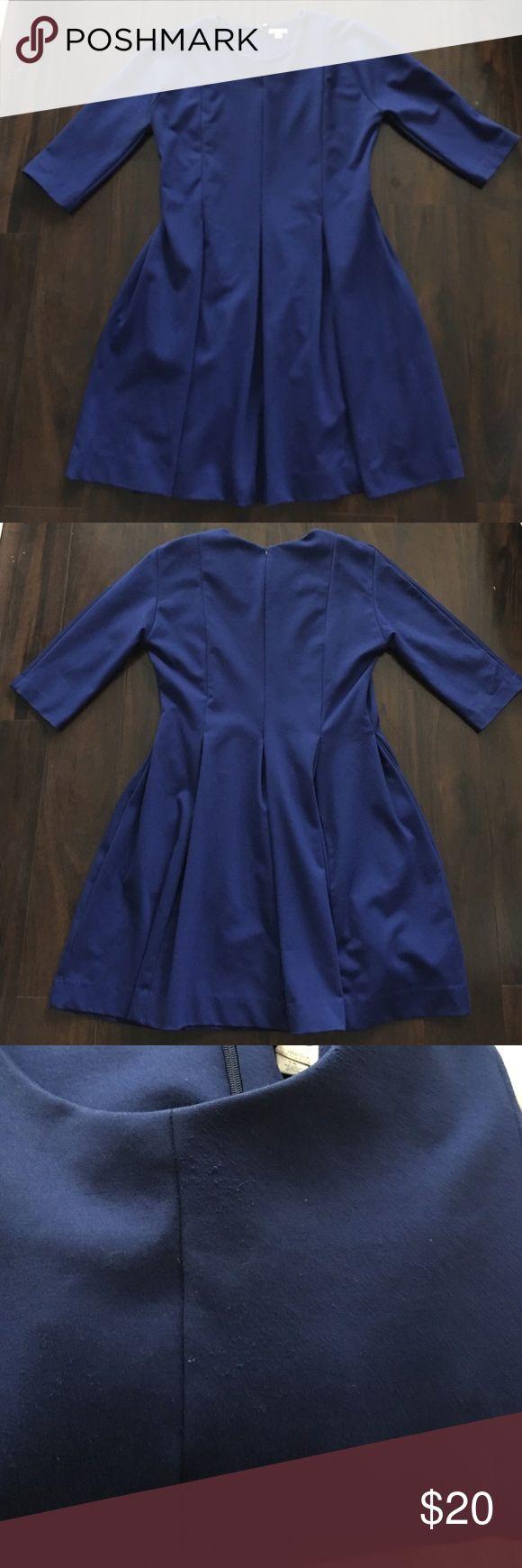 Gap Cobalt Dress w/ pockets. Gap Cobalt Dress w/ pockets. Shows signs of wear-peeling. Dresses