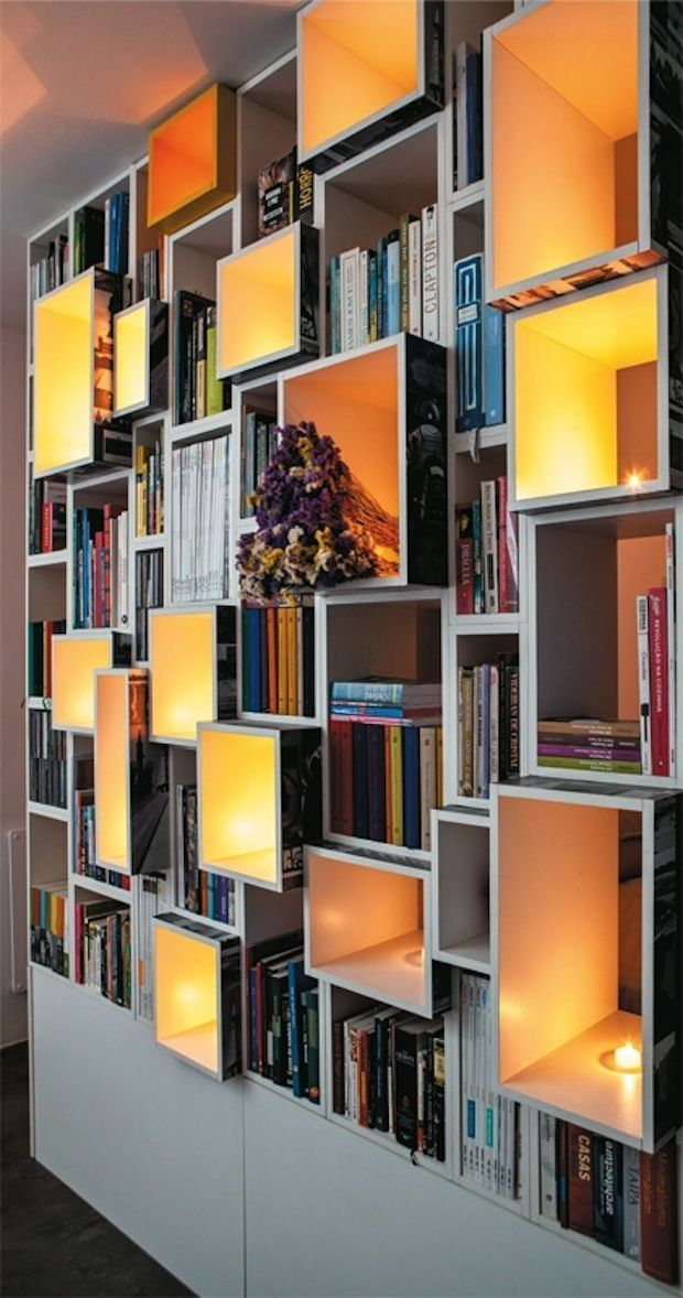 Everything about this bookshelf is perfection.