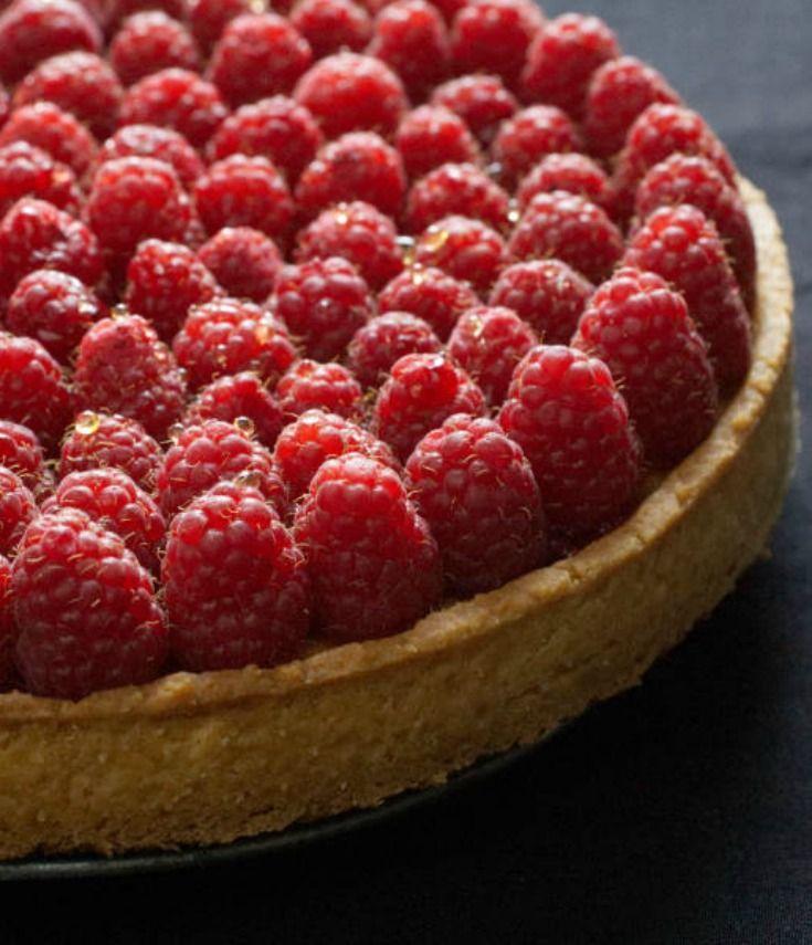 Raspberry tart (Lenôtre) | nathaliebakes.com