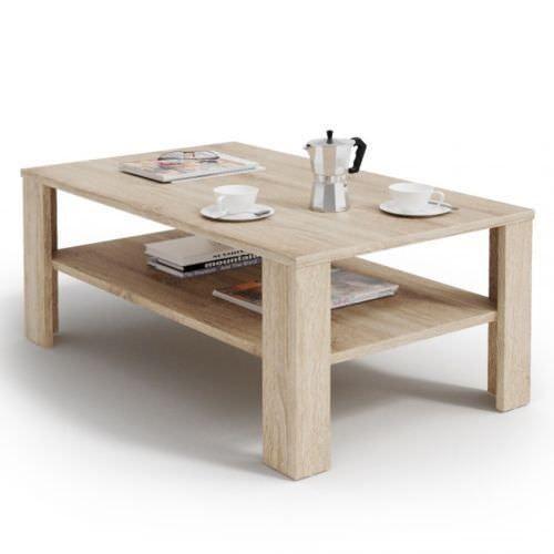 Table basse Salon Salon table à thé Design moderne en bois ...