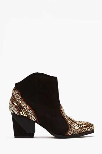 Bead It Ankle Boot: