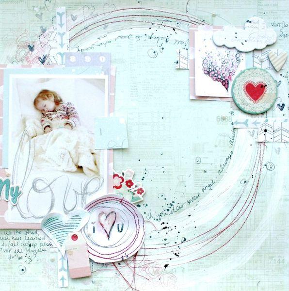 My Love I <3 You by soaphousemama @kari alissa Peas in a Bucket