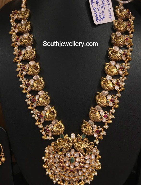 625 best Indian gold jewellery images on Pinterest Indian gold