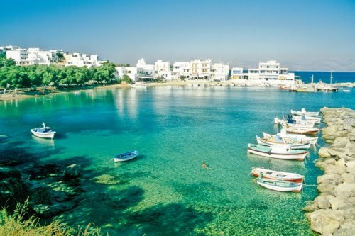 Easy, blissful moments in Paros Island