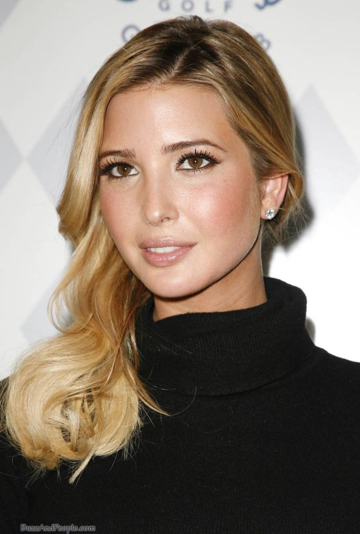 Ivanka Trump  Brown eyed blondes are warmer and sexier...so honey