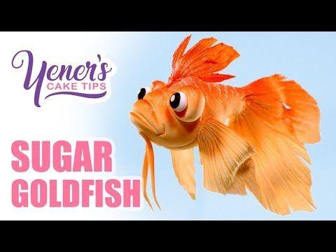 Easy SUGAR GOLDFISH Tutorial   Yeners Cake Tips with Serdar Yener from Yeners Way - YouTube