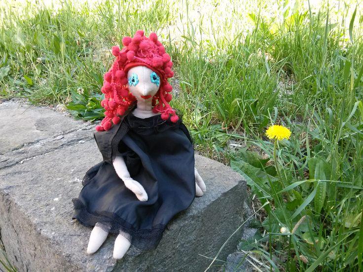 A Boszorkány is csak nő! Jön a tavasz, szép akar lenni (DIY haj - bogyós)