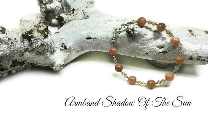 Armband Shadow Of The Sun | Exclusieve Edelsteen Armbanden | Beads Creations Kralen en Sieraden Maken