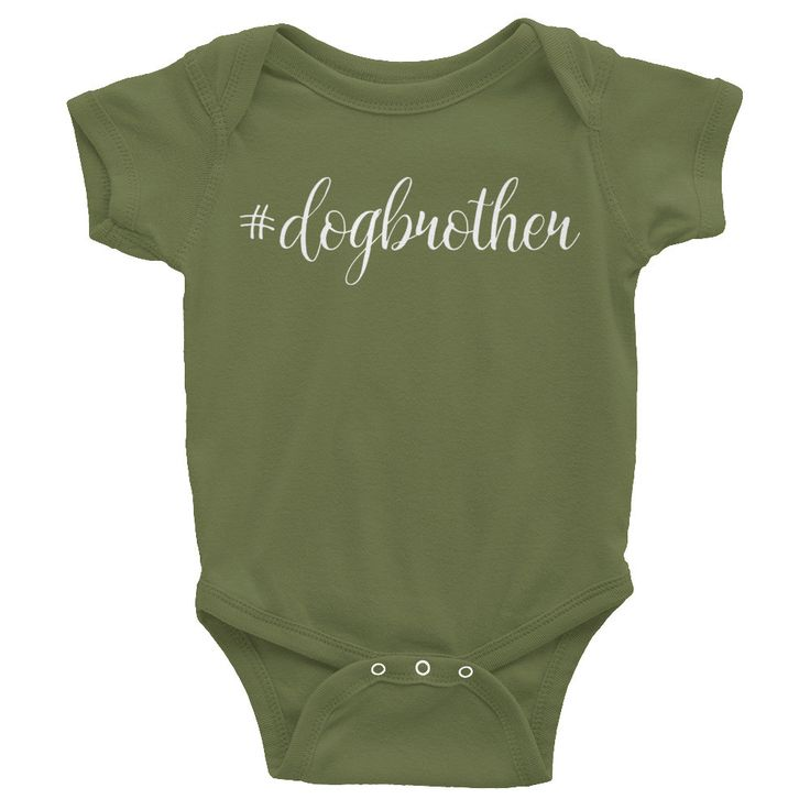 #dogbrother - Dog Brother infant short sleeve one-piece