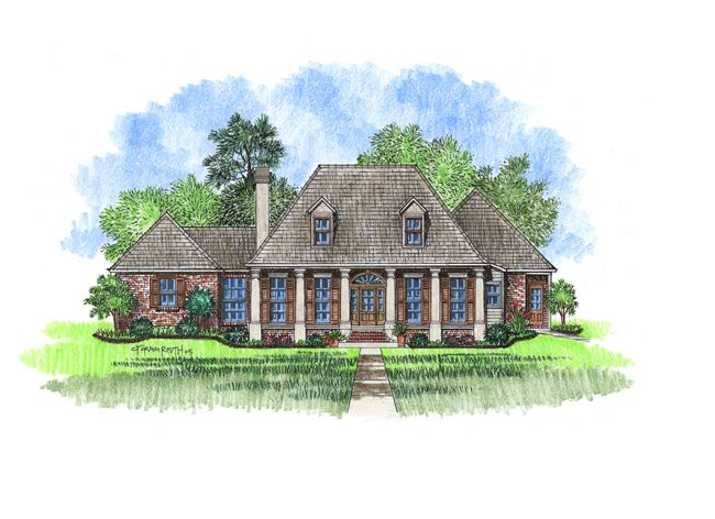 Acadian Style Homes Classic And Style On Pinterest