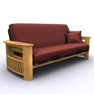 American Furniture Alliance Portofino Full Size Futon - Golden Oak at Sears.com