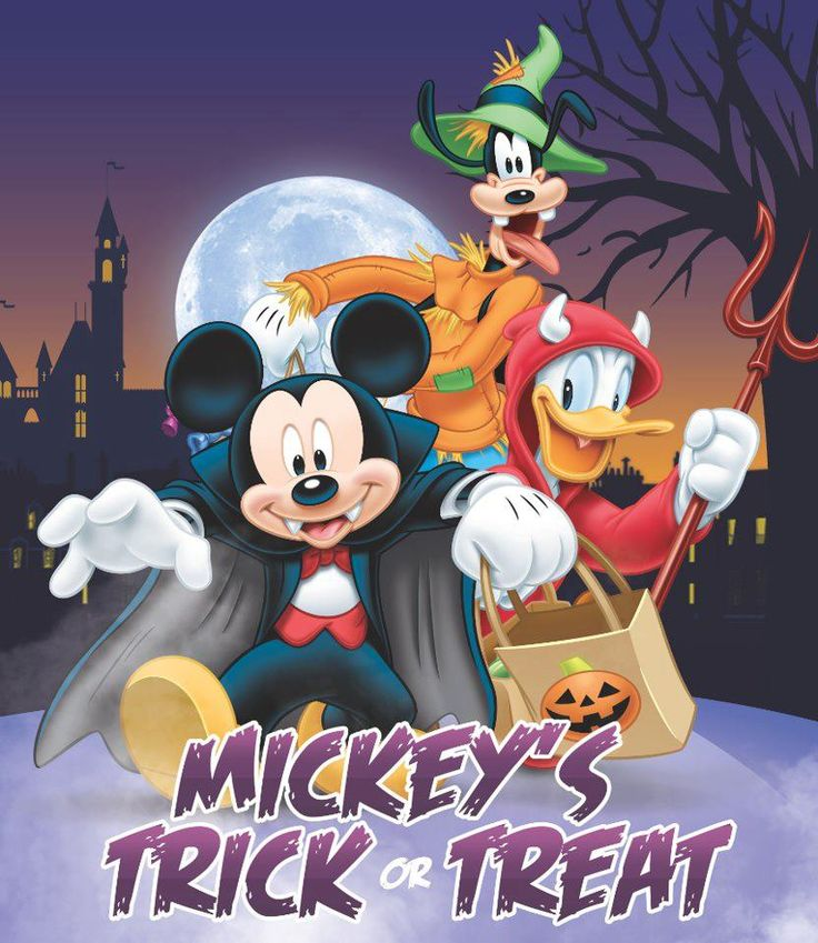 FREE Disney Movies & FREE Mickey Trick or Treat Game on Facebook