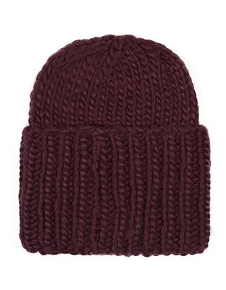 Superchunky Hat | Red | Accessorize