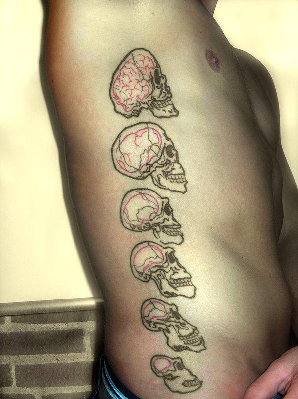 evolution tattoo?