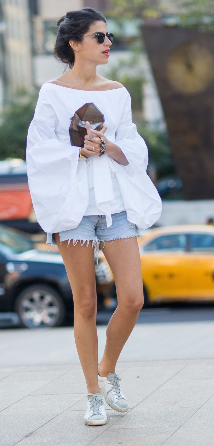 NYFW Spring 2015 Street Style, Leandra Medine For more fashion and beauty visit our website: www.breakfastwithaudrey.com.au