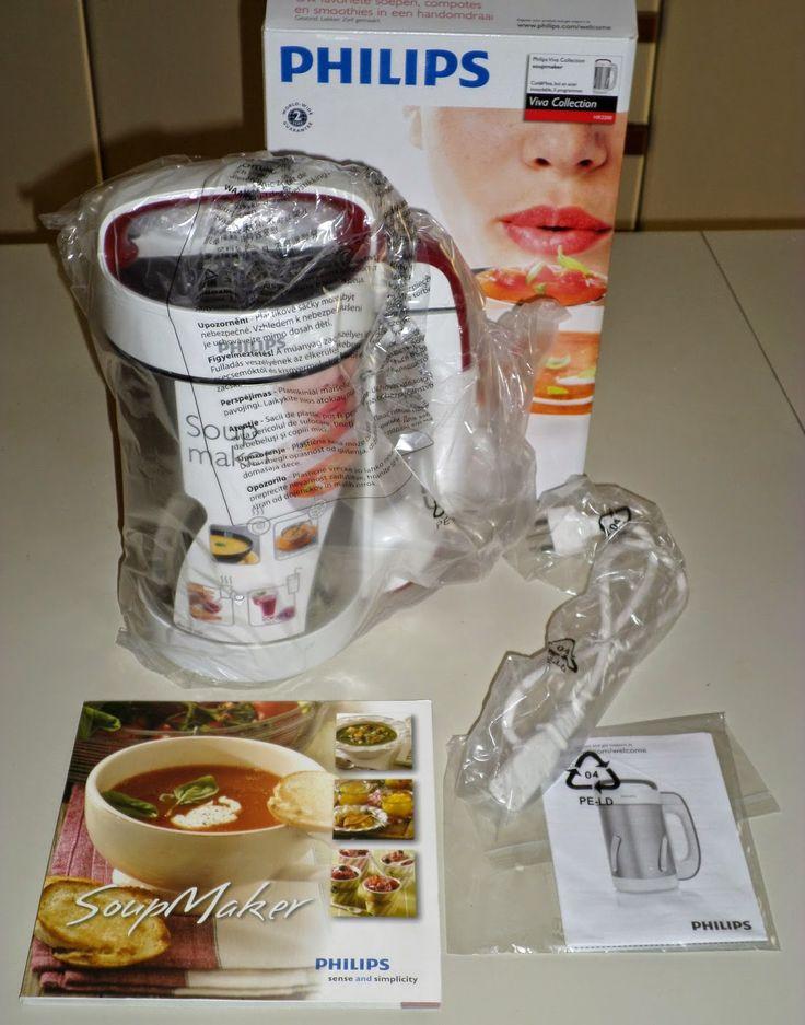 1000 images about soupmaker 1 3 l on pinterest - Soup maker philips video ...