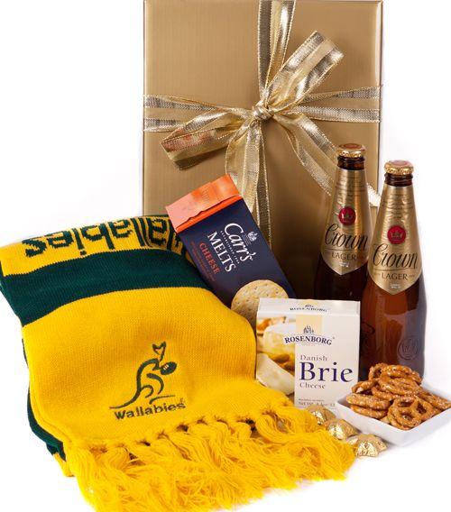 australia Gift Baskets - Wallabies Ultimate Supporter Pack - Beer Hamper