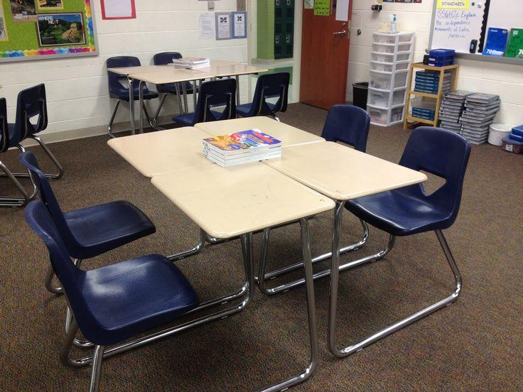 color scheme for desks  Middle School Classrooms