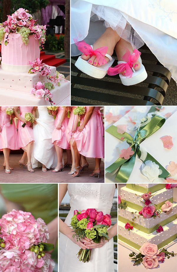 21 best Green & Pink Wedding Theme images on Pinterest | Pink ...