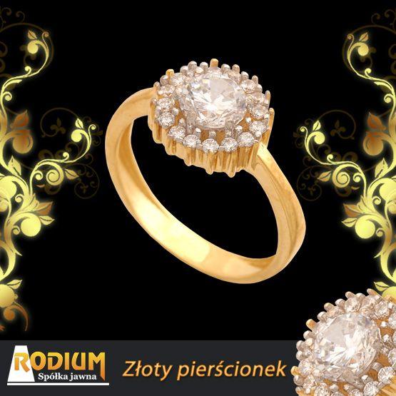 Złoty pierścionek - Są delikatne i czasem ledwie je widać, ale za to jak błyszczą!