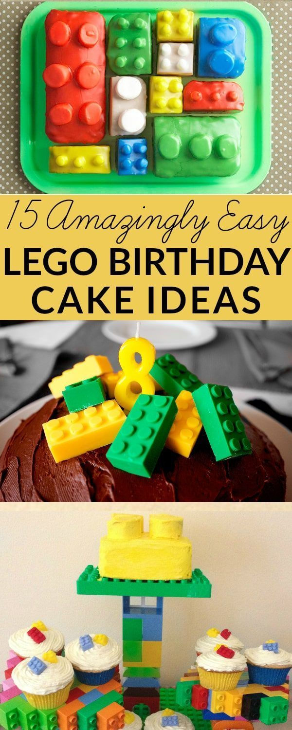 Lego Cake Ideas How To Make A Lego Birthday Cake With Images
