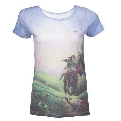 T-Shirt Zelda Ocarina of Time Femme