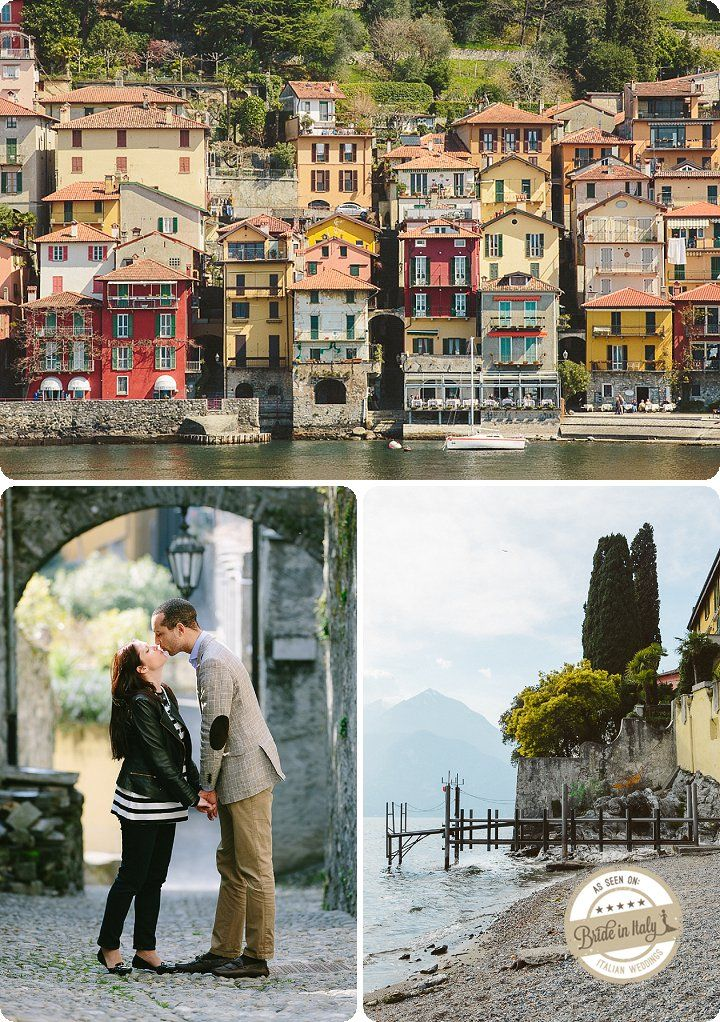 This awesome town is found in northern Italy, near Lecco. The lovely Varenna. Ph Marian Bader http://www.brideinitaly.com/2013/12/marianbader-varenna.html #wedding #italy #elopement