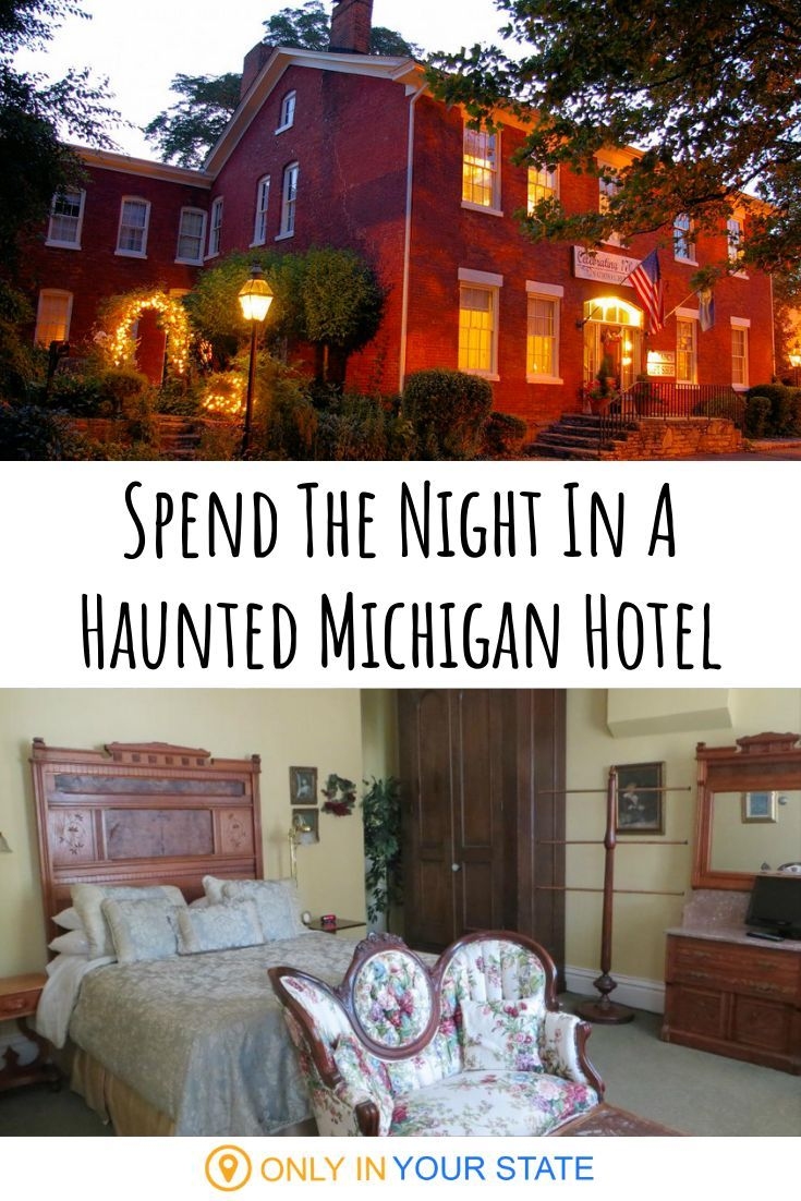 This 170 Year Old National House Inn Is One Of The Most Haunted Places Near Detroit And You Can Spend The Night Haunted Places Most Haunted Places Real Haunted Houses