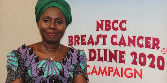 Breast Cancer Survivor Betty Anyanwu-Akeredolu and Founder of Breast Cancer Association of Nigeria (BRECAN)