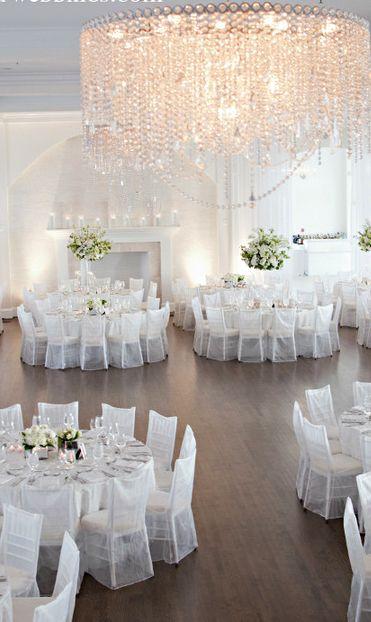 ideas decoración boda blanco  Índigo Bodas y Eventos  www.indigobodasyeventos.com