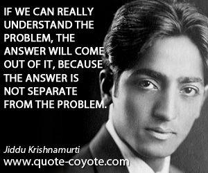 Jiddu Krishnamurti quotes - Quote Coyote