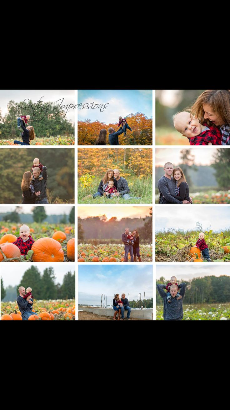 Family of 3 fall pumpkin farm sunset photography. By Helen Mels. Lasting Impressions. Photography posing.