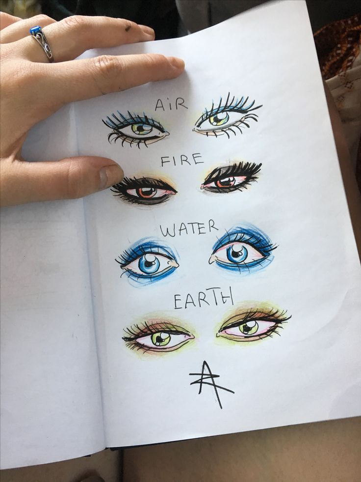 Eye of nature element