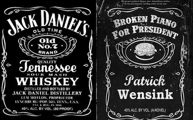 Jack Daniels Logo Template cakepins.com