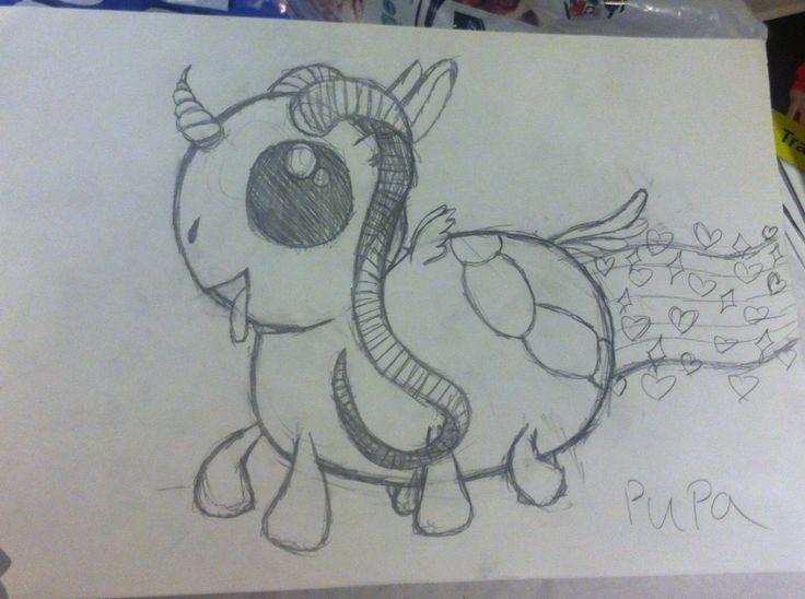 Cute fantasy animal i dont know what it is i just draw it but it is sooooooo cute