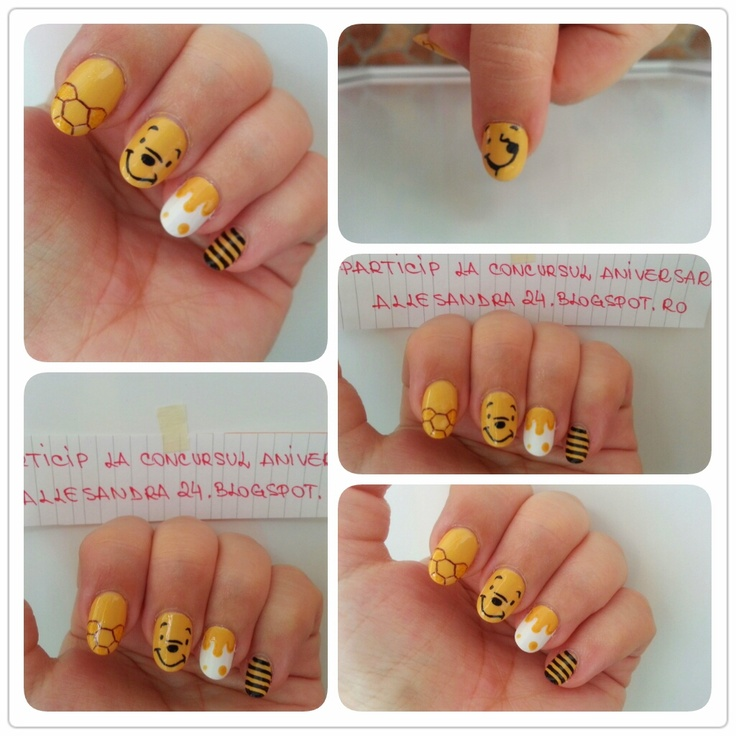 Winnie The Pooh Nails: 17 Best Images About Winnie The Pooh Stuff