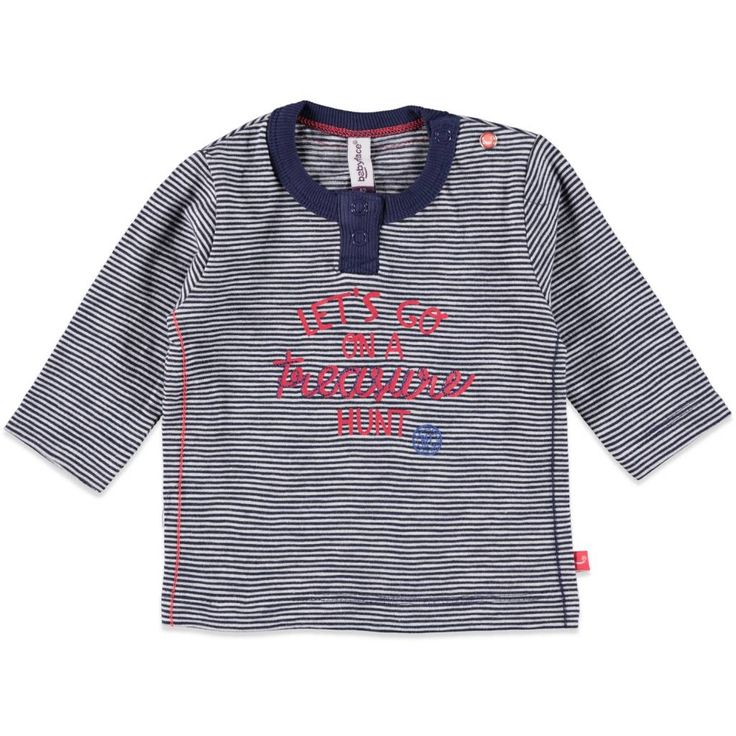 Babyface NB Shirt met fijne streep