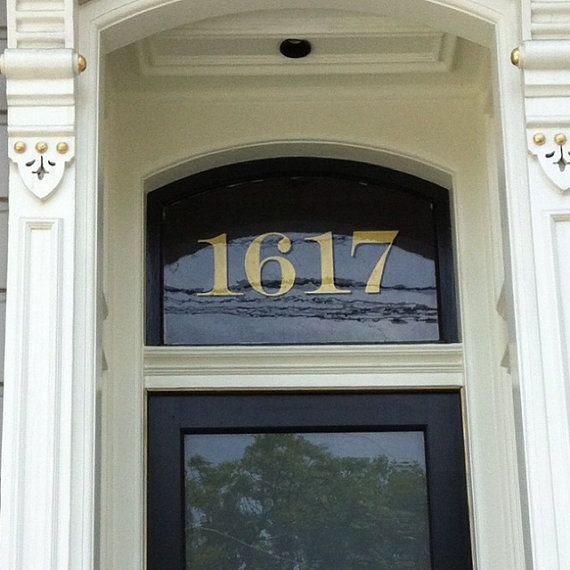 Home Address Transom Numbers House Building Numbers