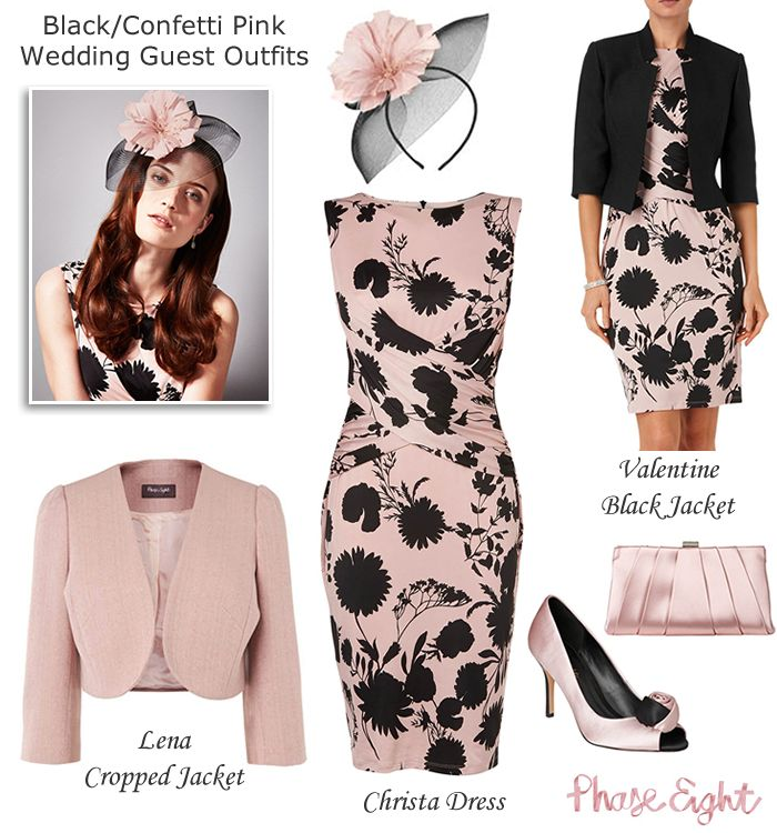 Best 25  Black wedding guest outfits ideas on Pinterest | Classic ...