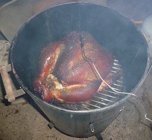 How to Smoke a Turkey!  Fully illustrated, easy and Great tasting!
