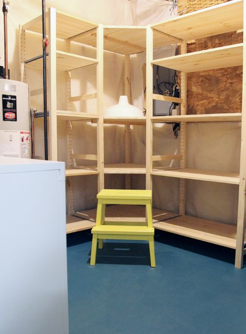 8 best images about home decor basement on pinterest for Basement storage ideas ikea