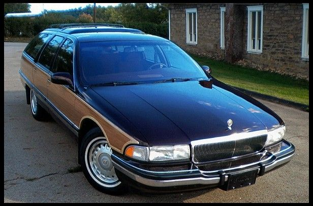 1996 Buick Roadmaster Wagon  Collector's Edition, dubbed so because this was the final year for the model, and for all rear wheel drive full size station wagons made by GM.