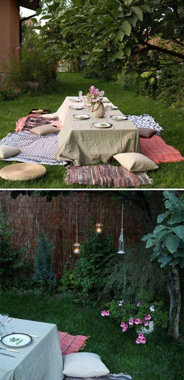 Top 34 Amazing Garden Decor Ideas in Bohemian Style