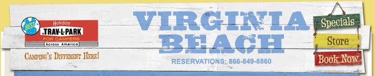 Holiday Travel Park Virginia Beach! Lots of fun!